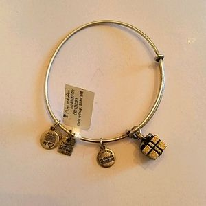 "Alex and Ani ""Gift Box"" Bangle Bracelet"